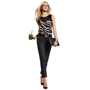Cabi Go To Cropped High Rise Trousers